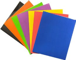 100 Units of Paper Portfolios - Folders and Report Covers