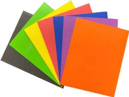 100 Units of Paper Portfolios 2 Pocket - Folders and Report Covers
