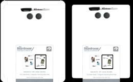 24 Units of Dry Erase Magnetic Board 11x14in - Dry Erase