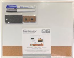 10 Units of Combo Dry Erase/ Cork Board 11x14in - Dry Erase
