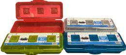 48 Units of Pencil Box Double Sided - Pencil Boxes & Pouches