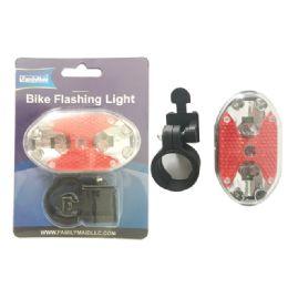 72 Units of 9 Led Bike Flashing Light - Biking