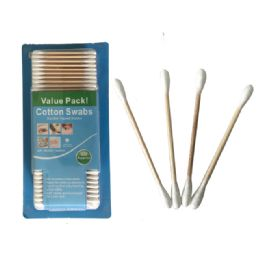 60 Units of Cotton Swab 450 Ct Wood - Bath And Body