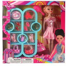 12 Units of 22 PIECE TRENDY'S FASHION SETS. - Dolls