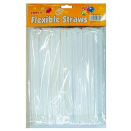 96 Units of 200pc Flexible straws - Lunch Bags & Accessories