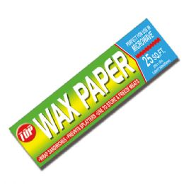 96 Units of Wax paper - Food Storage Containers