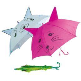 48 Units of Kid's umbrella Assorted Colors - Umbrellas & Rain Gear