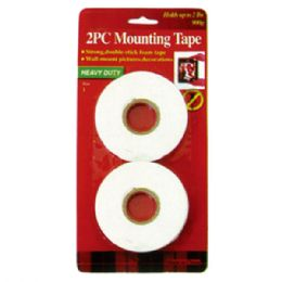 96 Units of 2 Piece Mounting Tape - Tape