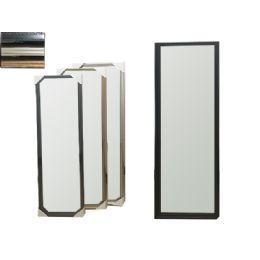 "12 Units of Mirror Beveled 12x48"" Beige - Wall Decor"