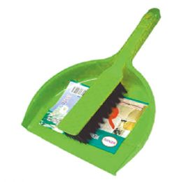 48 Units of Dustpan & Broom Set - Cleaning Products