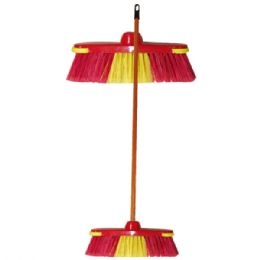 48 Units of Broom With 4 Foot Handle - Cleaning Products