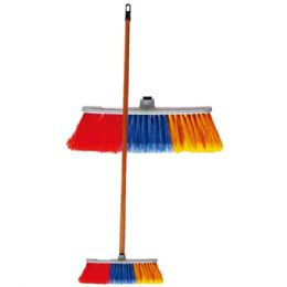 24 Units of Broom With Handle Stick - Cleaning Products