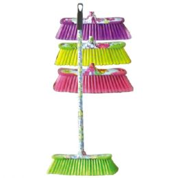 24 Units of Printed broom - Cleaning Products