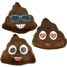 60 Units of Plush Poo Emojis - Pillows
