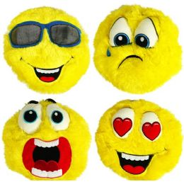 24 Units of Plush Furry Emojis - Pillows