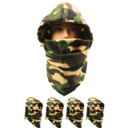 72 Units of Mens Winter Ninja Camo Hat - Winter Hats