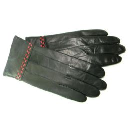 36 Units of Women's Gloves Collection 100% Lambskin Leather - Leather Gloves
