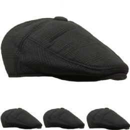 36 Units of Mens Winter Boonie Hat In Grey - Winter Hats