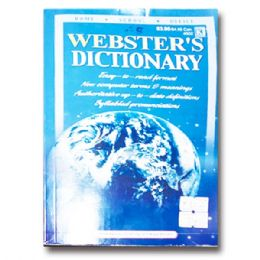 72 Units of Webster's Dictionary - Crosswords, Dictionaries, Puzzle books