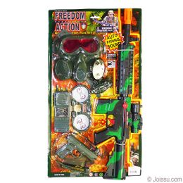 6 Units of 7 Piece Military Action Play Sets - Toy Sets