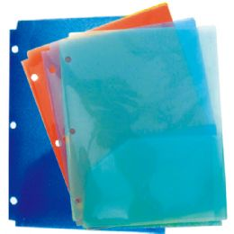 120 Units of Two Pocket Folders Assorted Colors - Folders and Report Covers