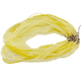 288 Units of YELLOW NECKLACE RIBBON & CORD - Necklace