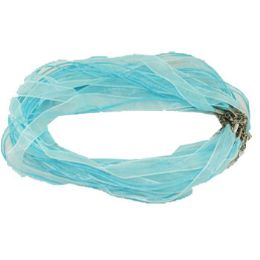 288 Units of BLUE NECKLACE RIBBON CORD - Necklace