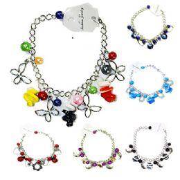 144 Units of COLORFUL FASHION BRACELET ASSORTED STYLES - Bracelets