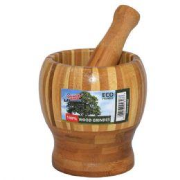24 Units of Wood Grinder - Kitchen Utensils