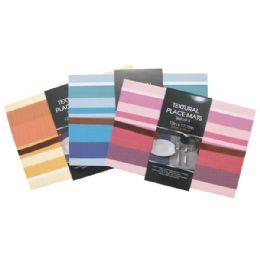 48 Units of Placemat 4pk Stripes - Placemats
