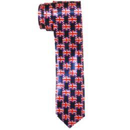 48 Units of Men's Slim Flag Tie - Neckties