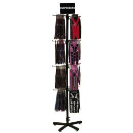 Assorted Fashion Suspender Set With Display - Suspenders