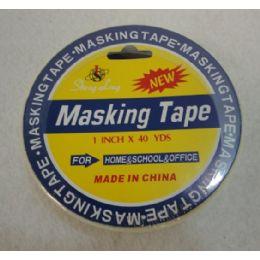 "48 Units of 1""x40yd Masking Tape - Tape"