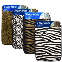 48 Units of Floor Mats 15x23 Animal Print - Bath Mats
