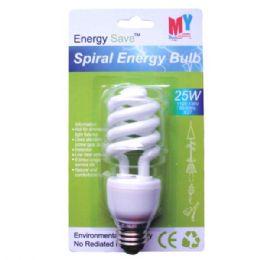 100 Units of Spiral Energy Bulb 25w - Lightbulbs