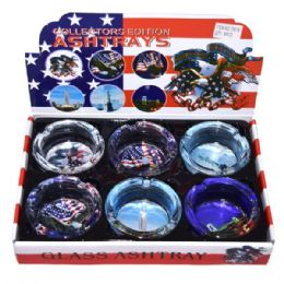 48 Units of Ashtray Glass Usa - Ashtrays