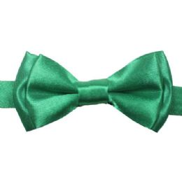 96 Units of Kid's Green Bow tie 505 - Neckties