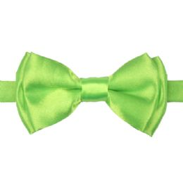 72 Units of KID BOWTIE 514 LIGHT GREEN - Neckties