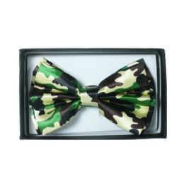 72 Units of KID BOWTIE 519 CAMO - Neckties