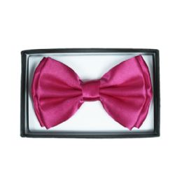 72 Units of Hot Pink Bow Tie 015 - Neckties