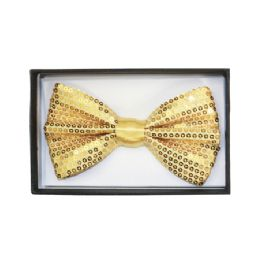 48 Units of Yellow Sequin Bow Tie 022 - Neckties
