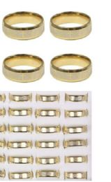 144 Units of Stainless Steel Rings With Cross - Rings