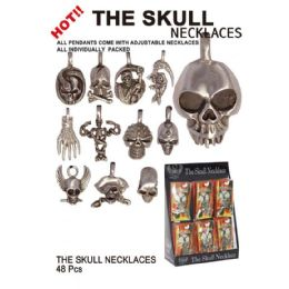48 Units of THE SKULL NECKLACES - Necklace