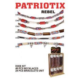 72 Units of PATRIOTIX REBEL - Necklace