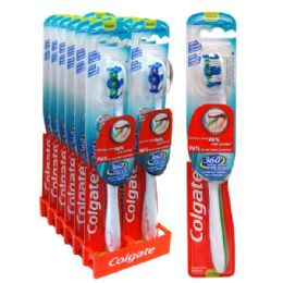72 Units of Colgate Toothbrush 360 - Toothbrushes and Toothpaste