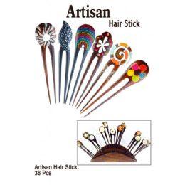36 Units of ARTISAN HAIR STICK - Hair Accessories