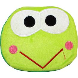 144 Units of Plush Green Frog Cd Case - CD and DVD Accessories