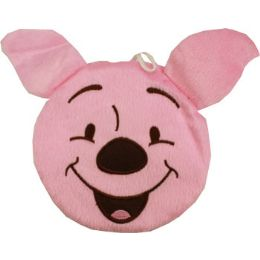 144 Units of Plush Pink Winnie The Pooh Cd Holder - CD and DVD Accessories