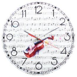 24 Units of Guitar Clock - Wall Decor