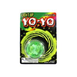72 Units of Light Up YO-yo - Novelty Toys